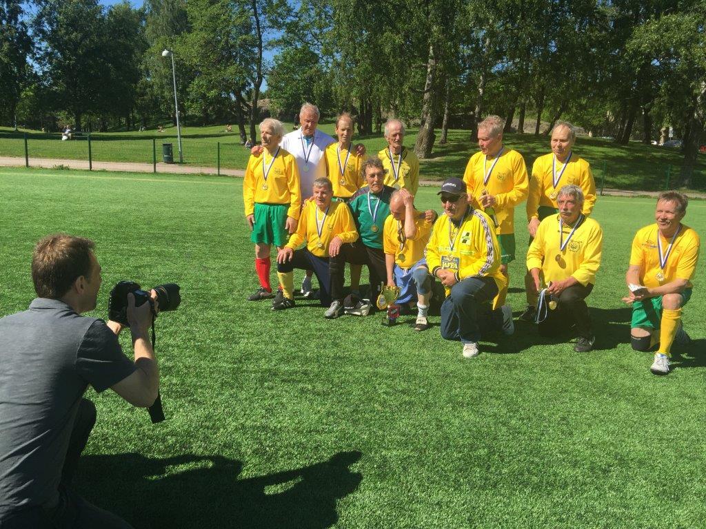 ILVES on jalkapallon ensimmäinen JKKI70 Suomen mestari!
