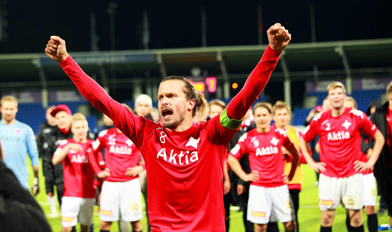 KTP – HIFK kello 15.00 – tässä IFK:n kokoonpano