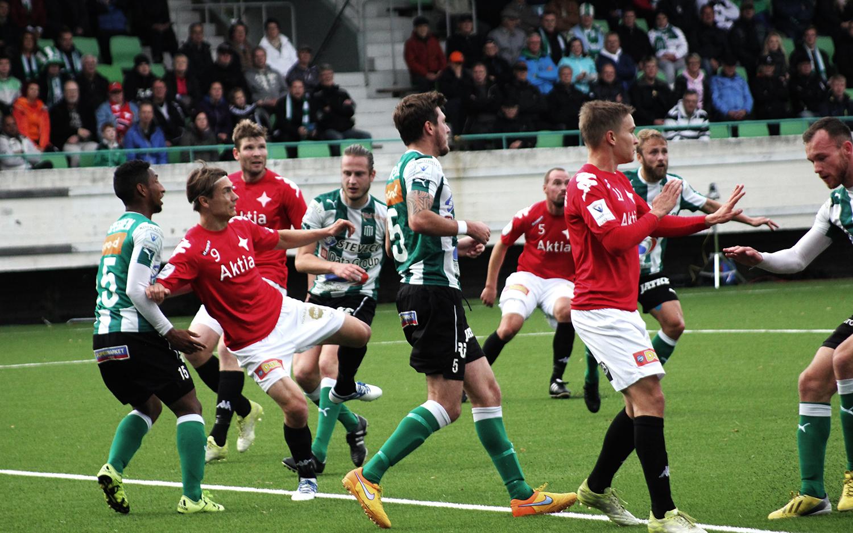 IFK:lle katkera tappio Kotkassa – putoamiskamppailusta tulee todella mielenkiintoinen