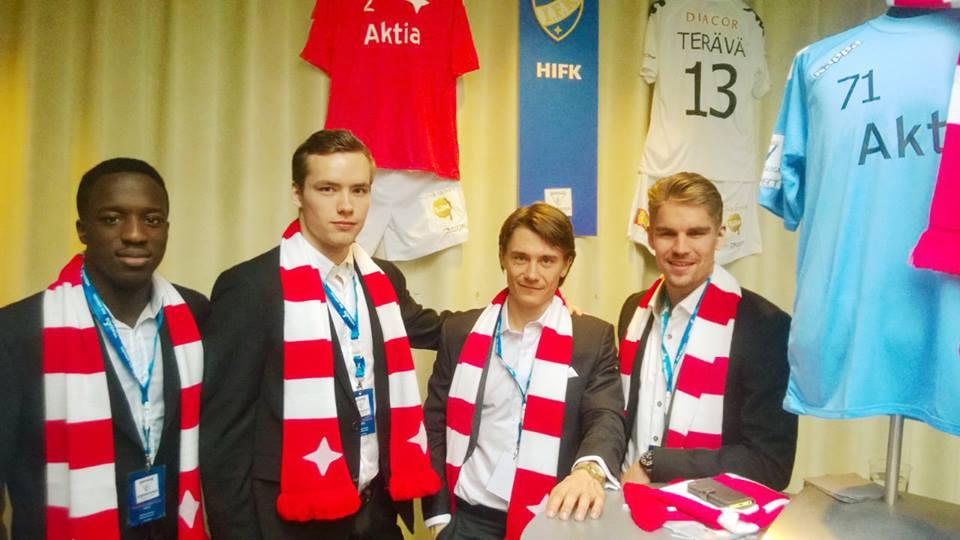 HIFK Jouluvoucher: Kaulaliina + 2kpl lippupaketti erikoishintaan