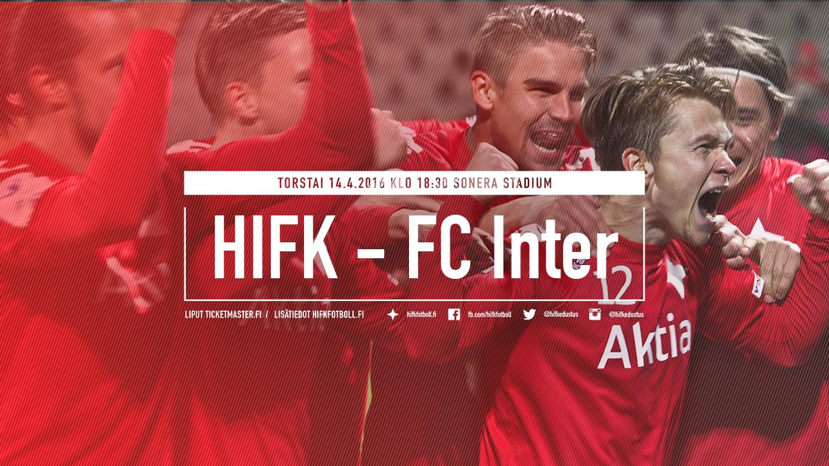 Dumlen otteluennakko: HIFK – FC Inter – ennakkoliput Ticketmasterista