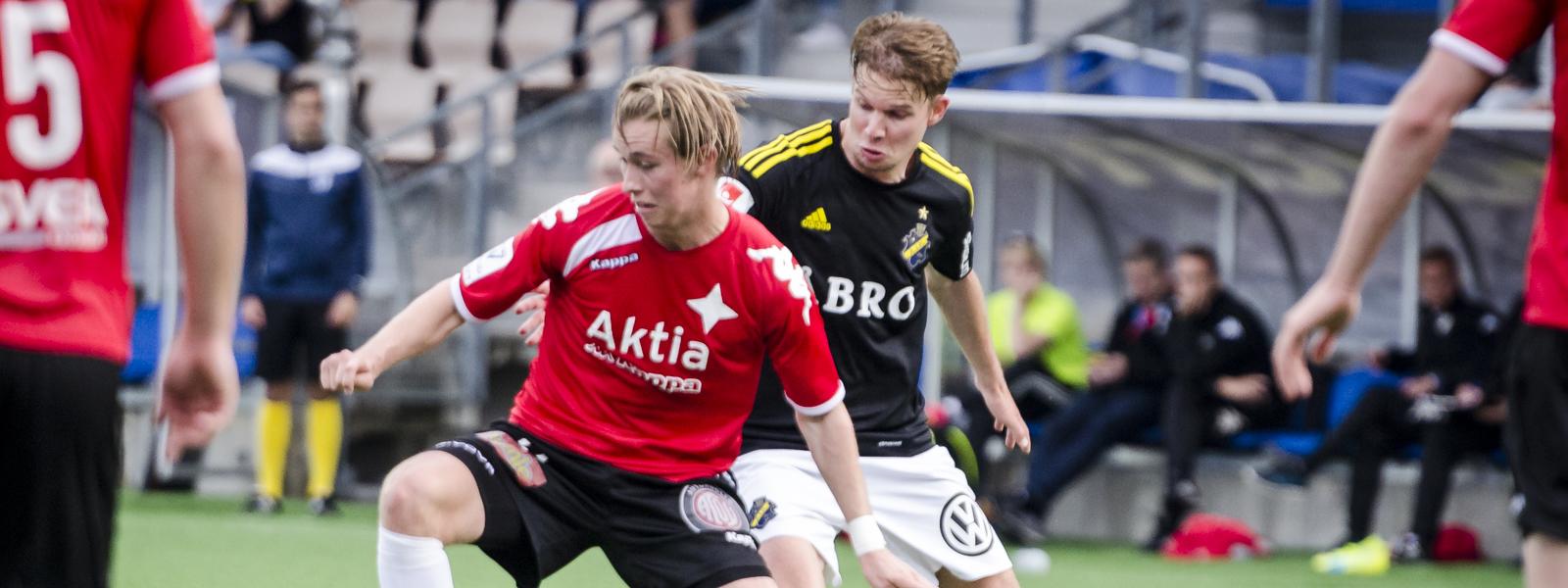 HIFK nousi tasapeliin AIK:ta vastaan &#8211; <br> Daniel Rantaselta upea kavennusmaali