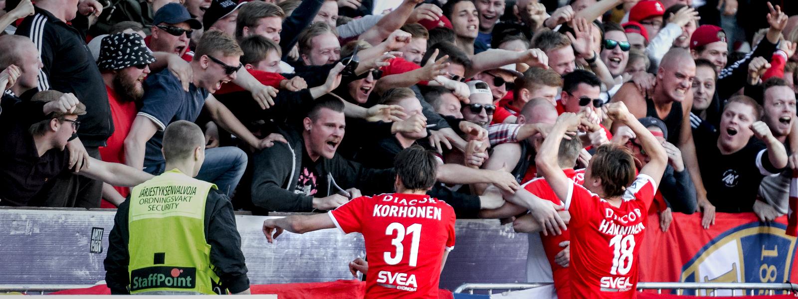 HIFK:lle upea ja tärkeä kotivoitto SJK:sta – RE/MAX otteluraportti