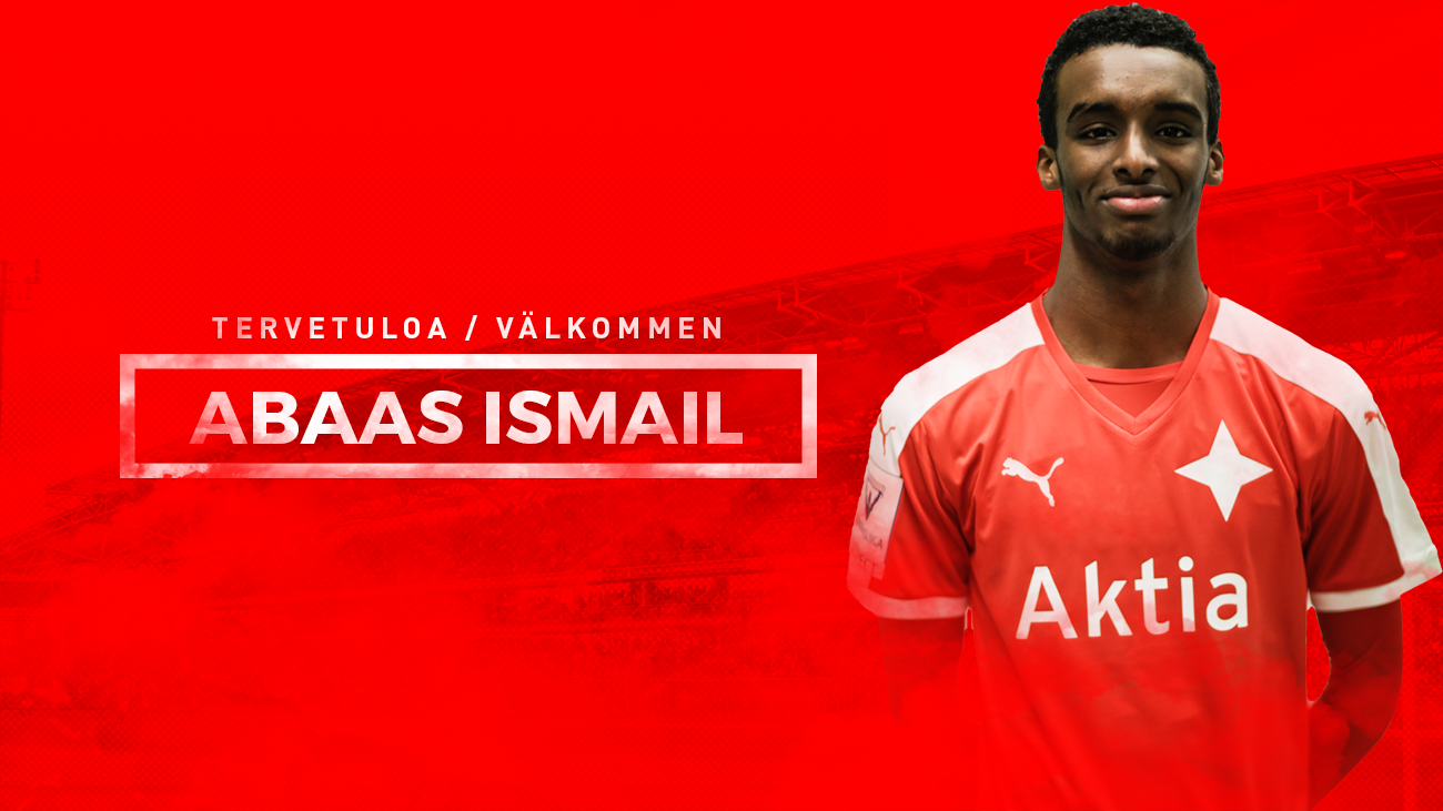 Suomen juniorimaajoukkuehyökkääjä <br> Abaas Ismail siirtyy HIFK:hon