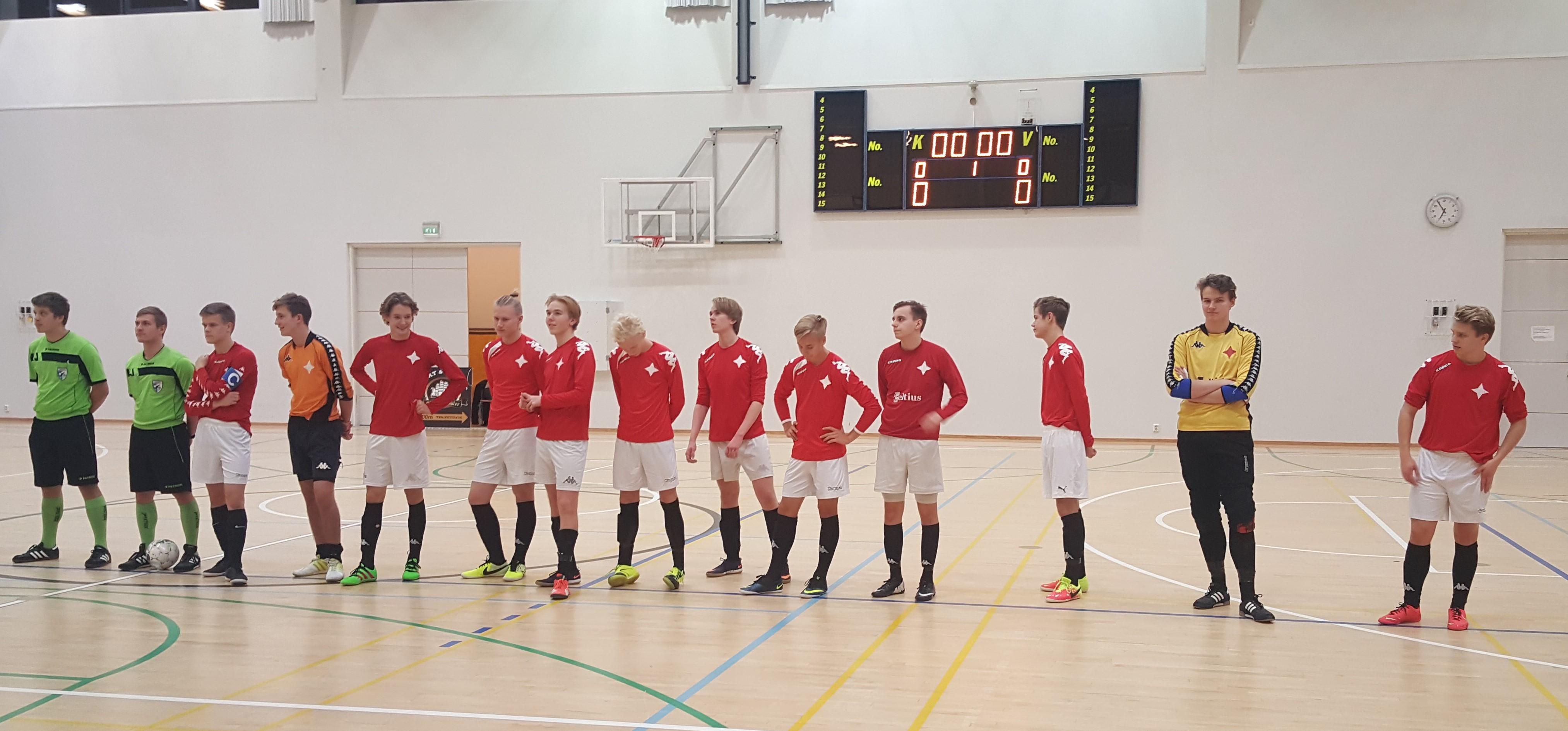 HIFK kilpailee U19-finaaleissa futsalin Suomen mestaruudesta 18.2.-19.2.
