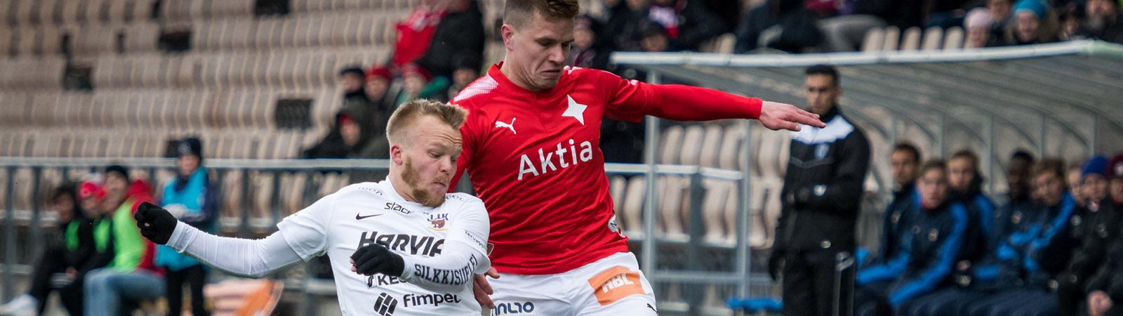 HIFK ja JJK maalittomaan tasapeliin <br> &#8211; Forssell debytoi IFK:ssa