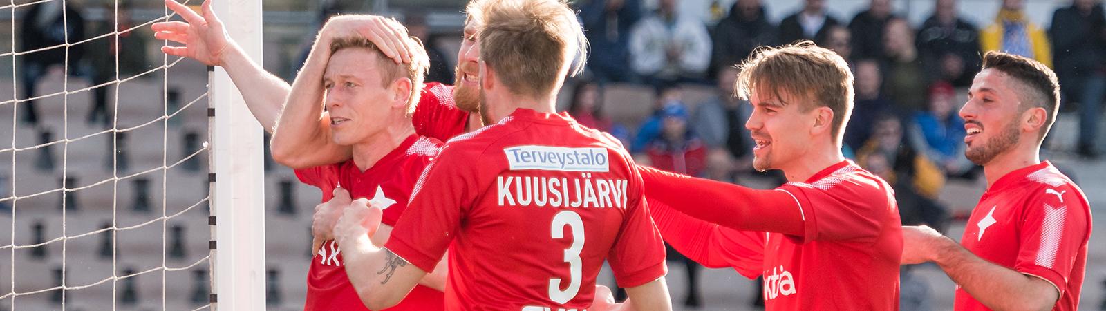 HIFK:lle upea 3-0 vierasvoitto Jyväskylästä <br> &#8211; &#8221;Faneille iso kiitos&#8221;