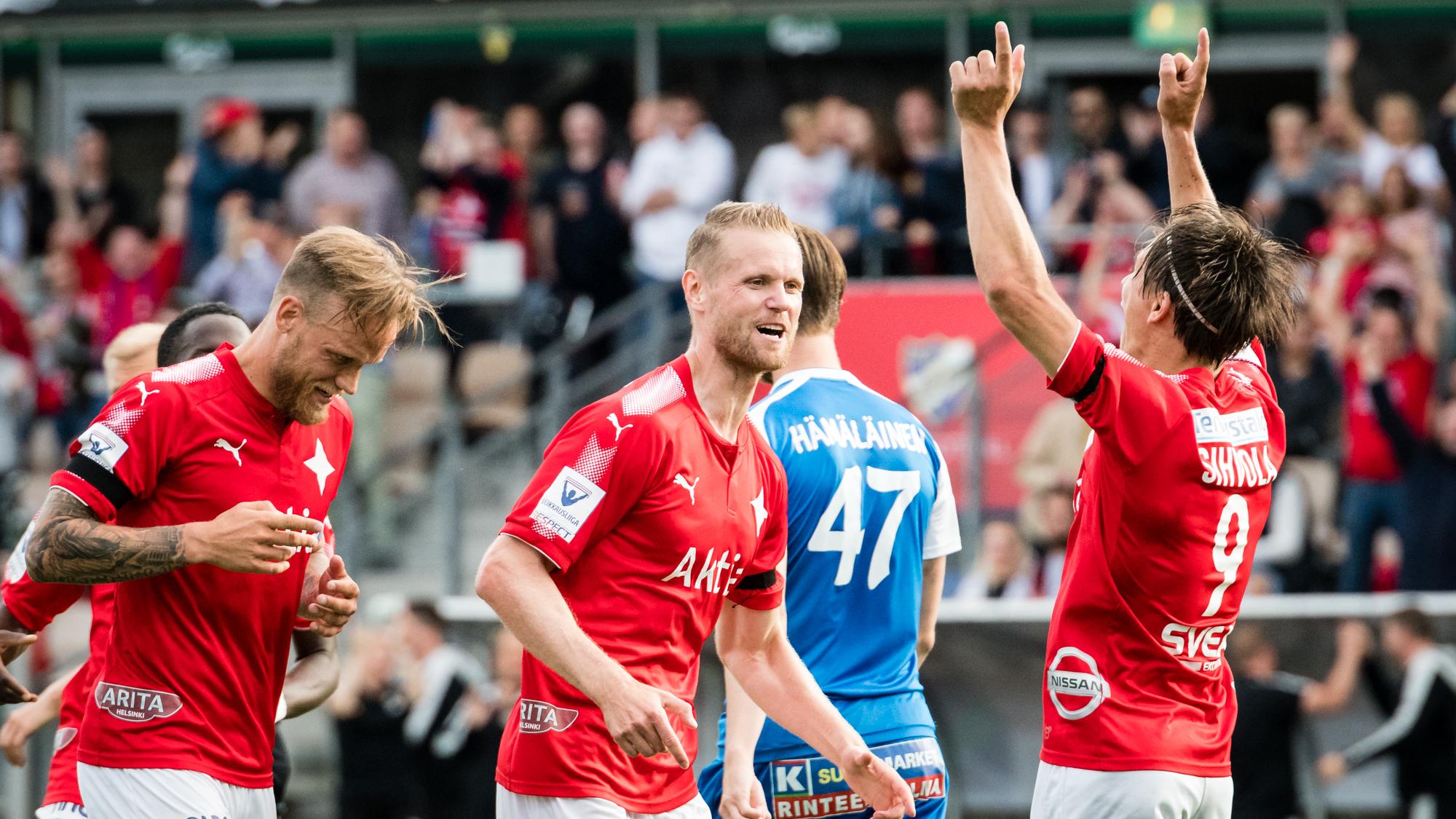 HIFK-SJK tänään 18:30 <br> – katso IFK:n kokoonpano