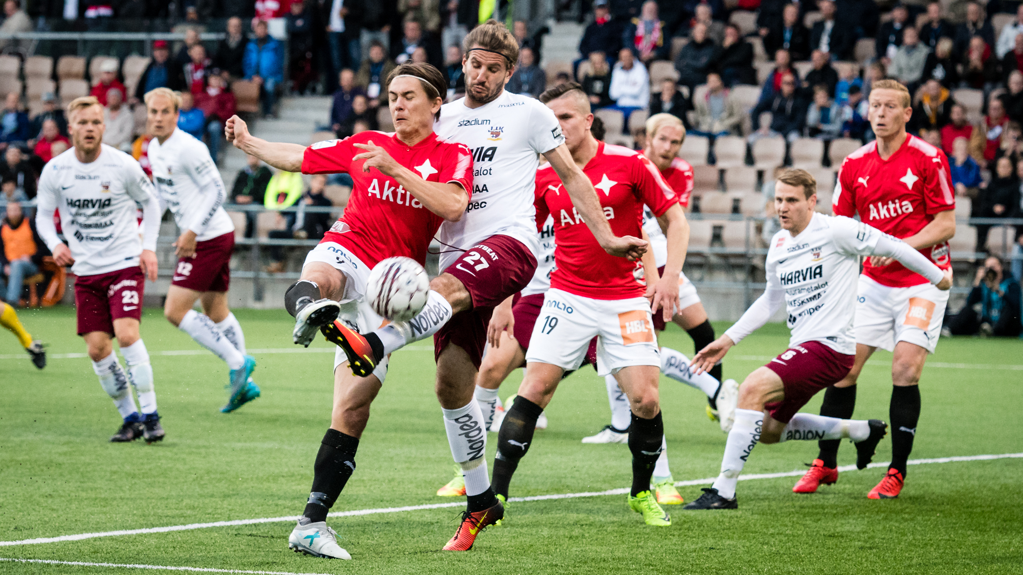 HIFK ja JJK tasapeliin <br> &#8211; Halmeelle kauden kolmas maali