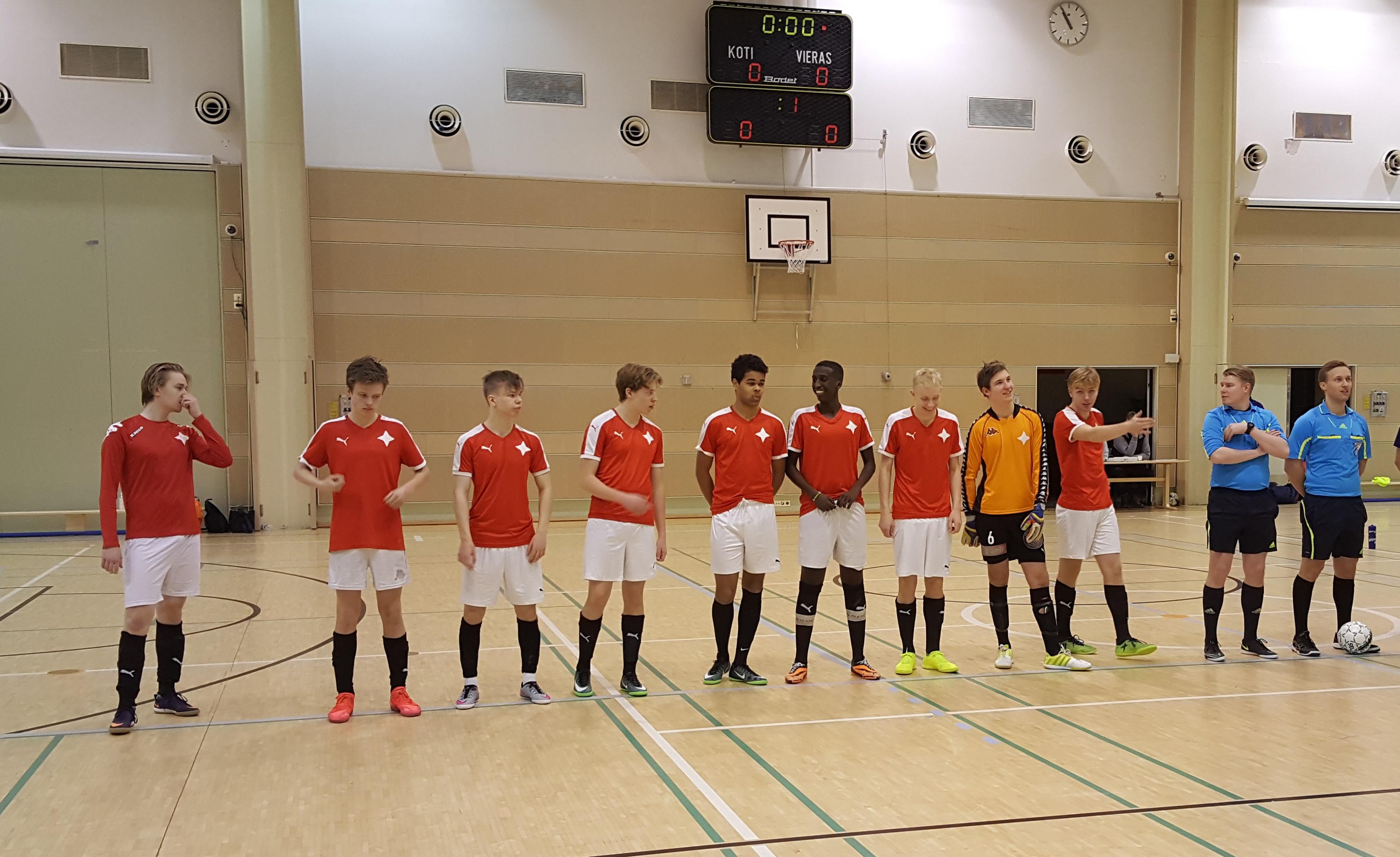 Seuraa SOME:sta HIFK:n joukkueen matkaa U19 Futsal Liigan lopputurnaukseen