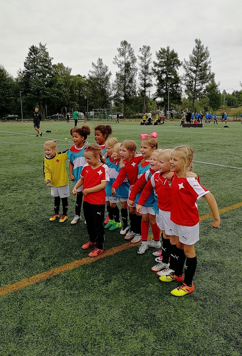 HIFK anordnar fotbollsskola för flickor födda 2012-14