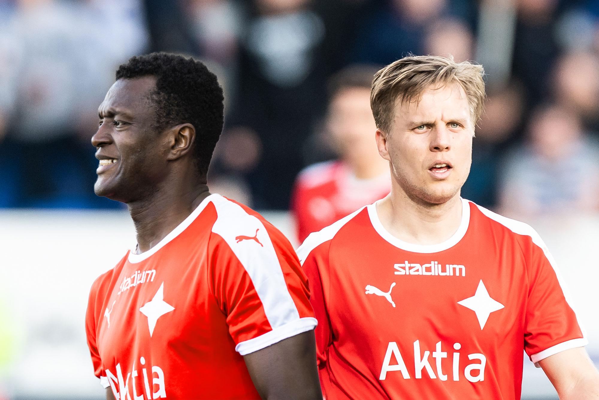 Bäckman ja Sesay valittu Veikkausliigan kuukauden joukkueeseen