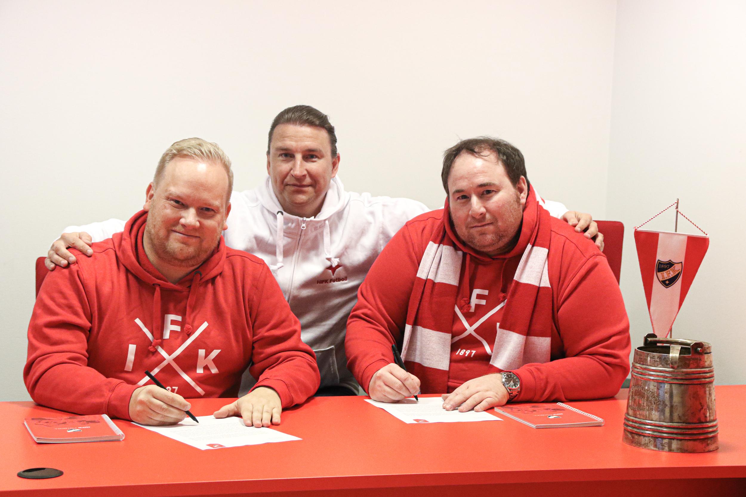 HIFK:s organisation förstärks – tre träningschefer utnämnda