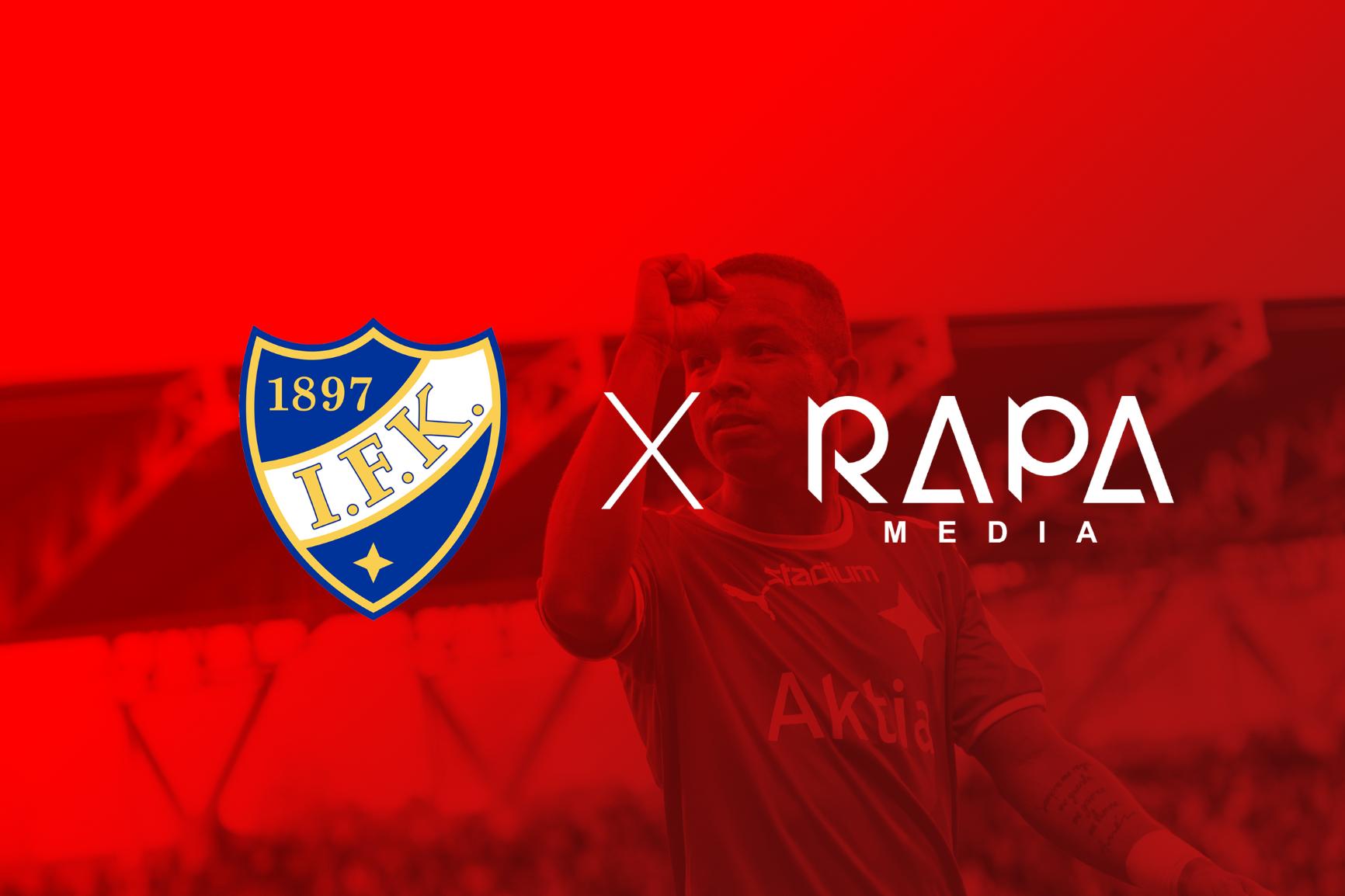 HIFK:s mediateam publicerat – samarbetet med Rapa Media inleds