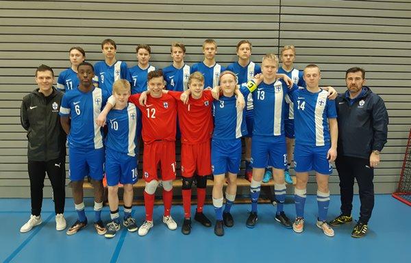 HIFK var representerat i nationell U19-spelarutvecklingsturnering