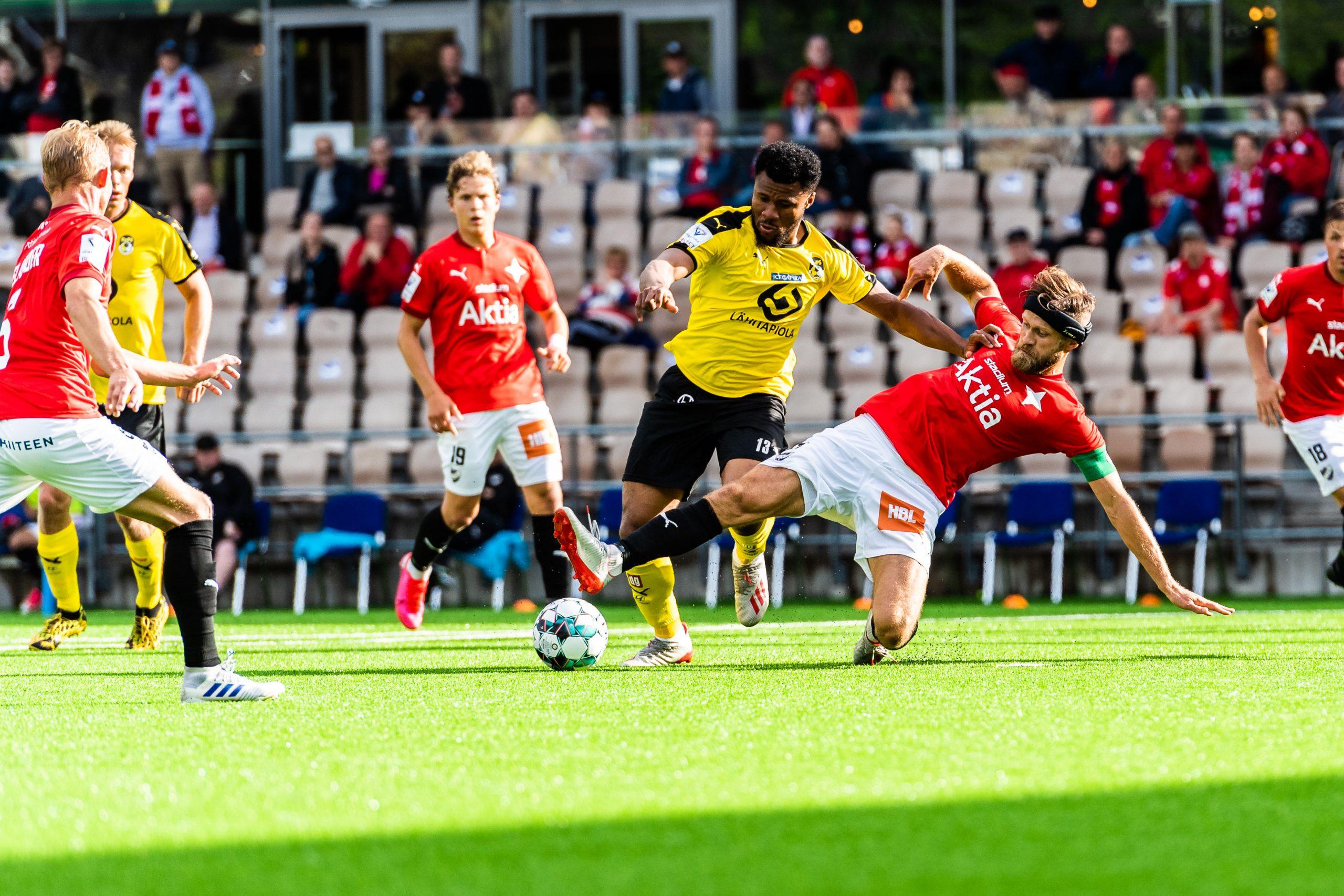 Matchrapport: Säsongen inleddes med en kalldusch mot KuPS