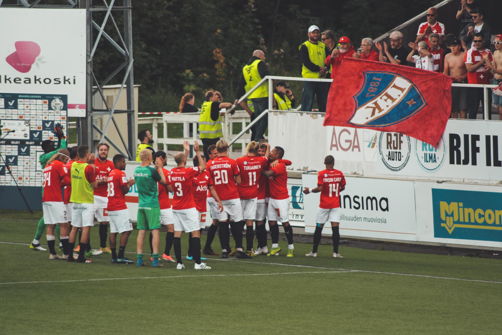 Matchrapport: HIFK vann med två mål i Valkeakoski