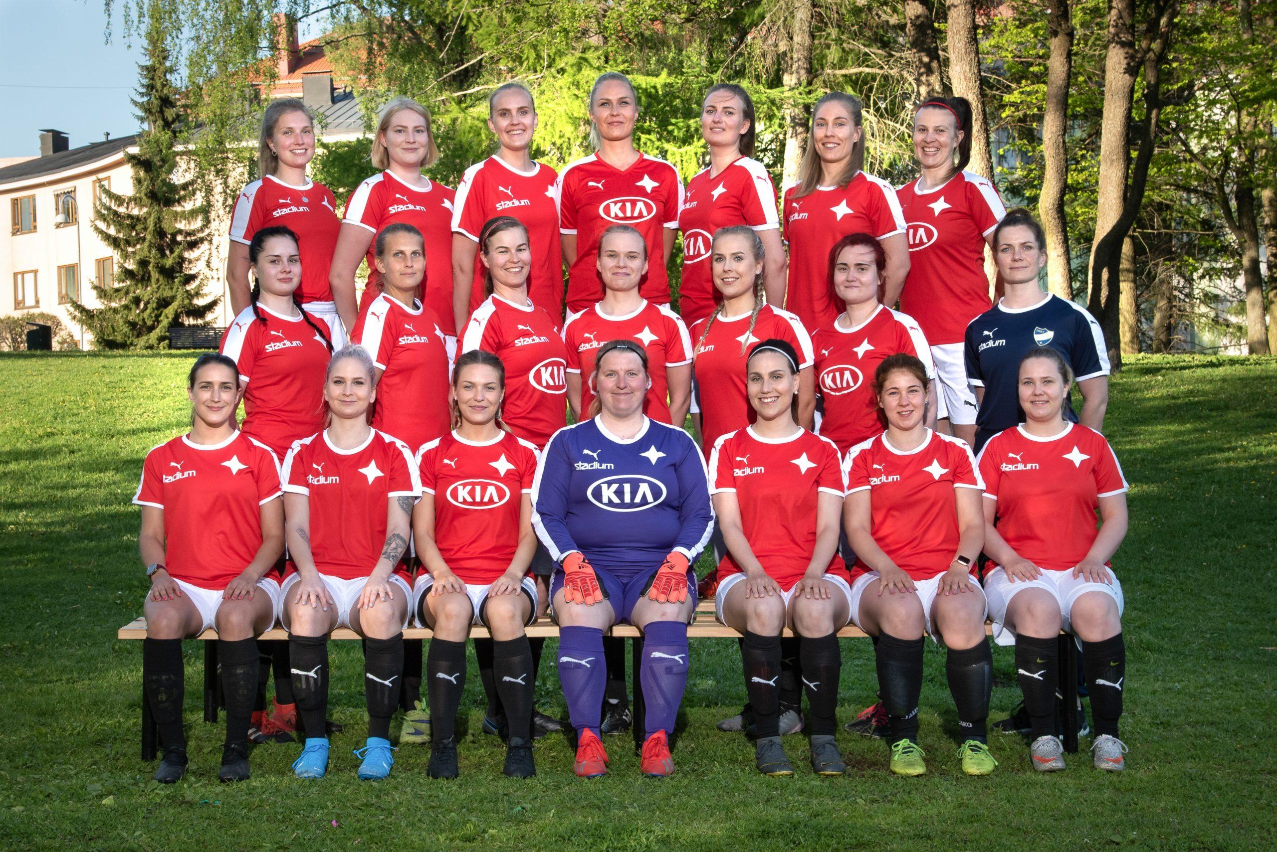 HIFK/Red blev tvåa i sin grupp i Fyran efter jämna matcher