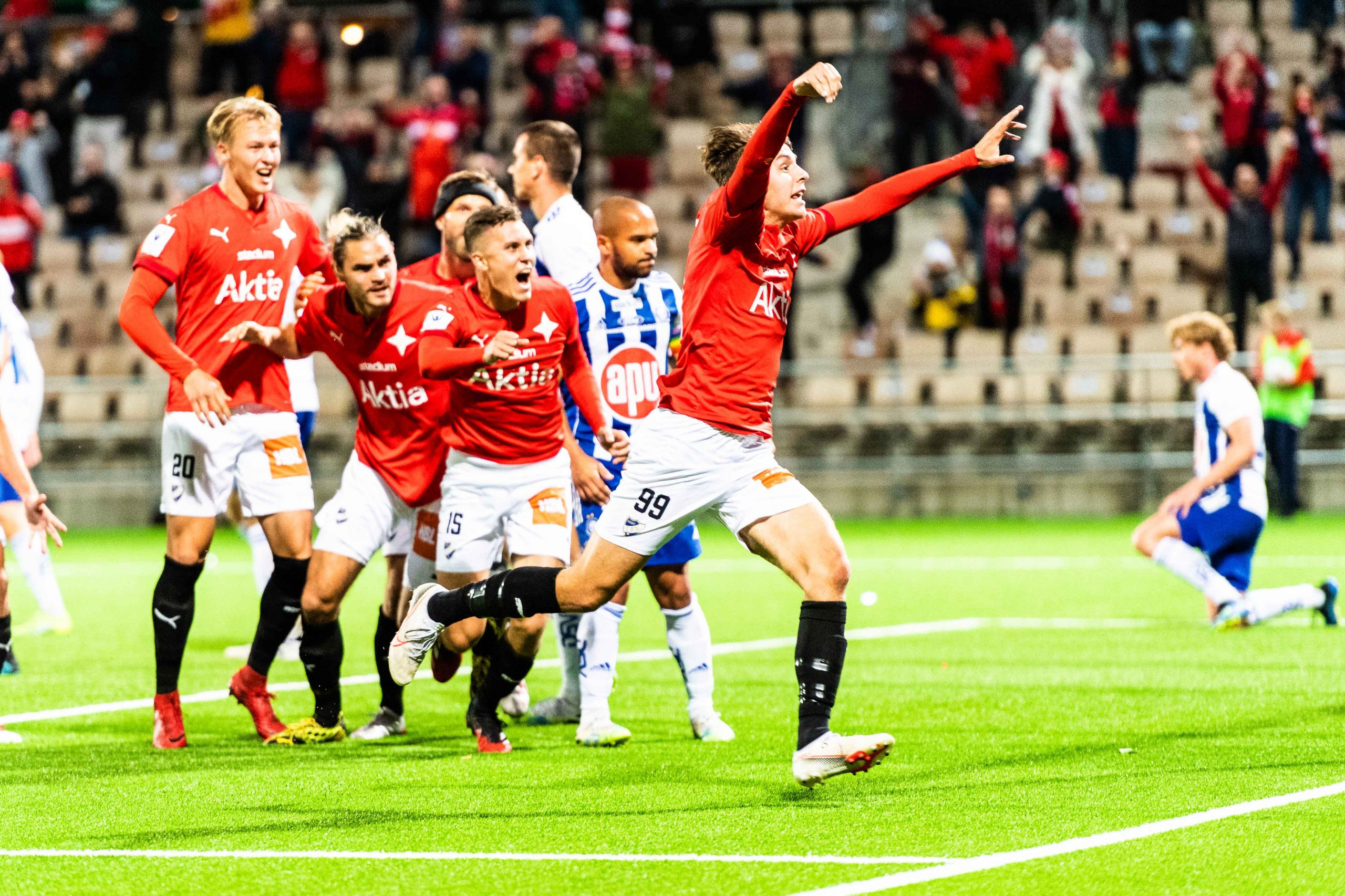 Derbywin, draws and more for HIFK in September