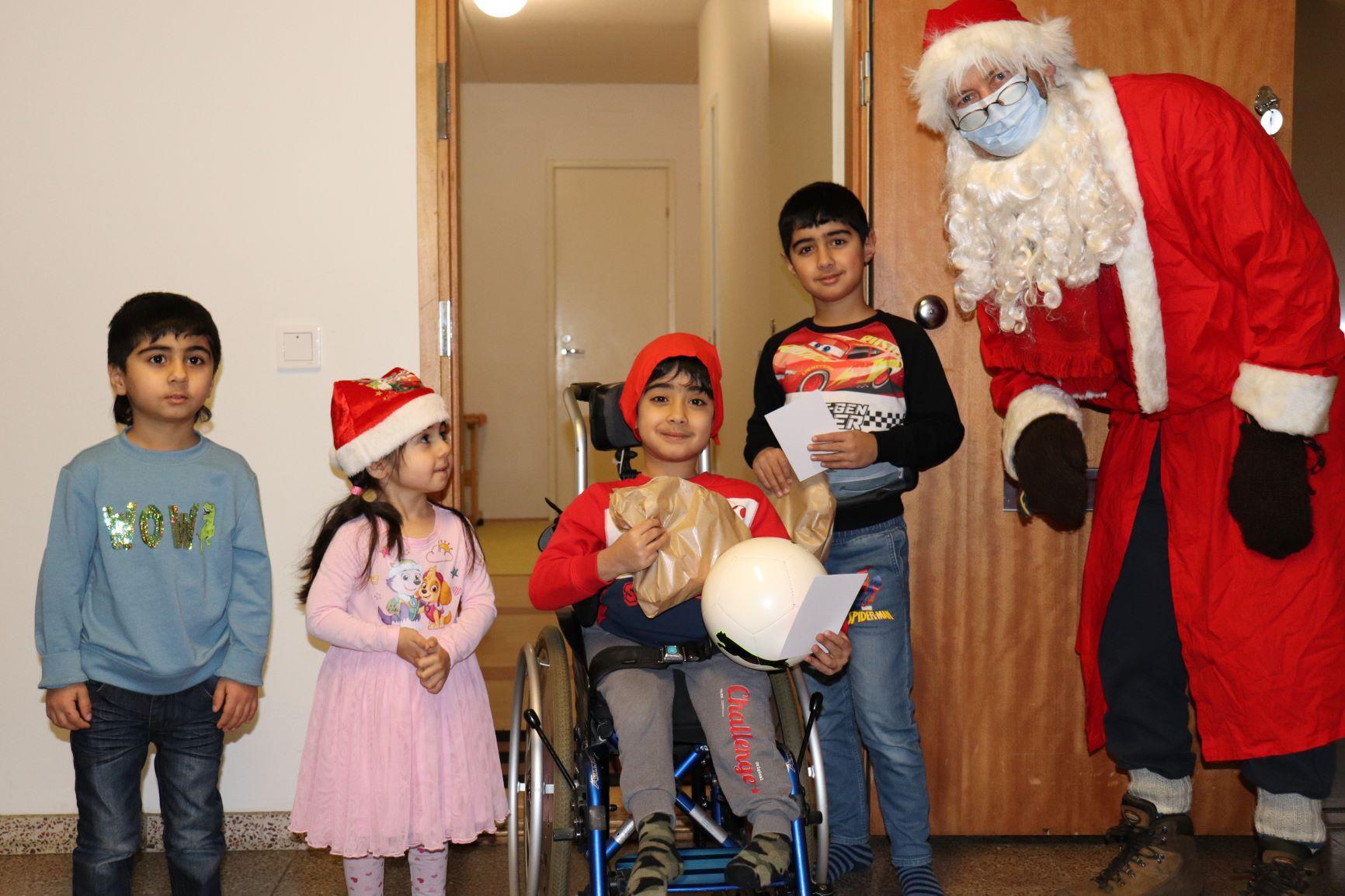 Moshtagh Yaghoubi ja HIFK mukana hyväntekeväisyysprojektissa