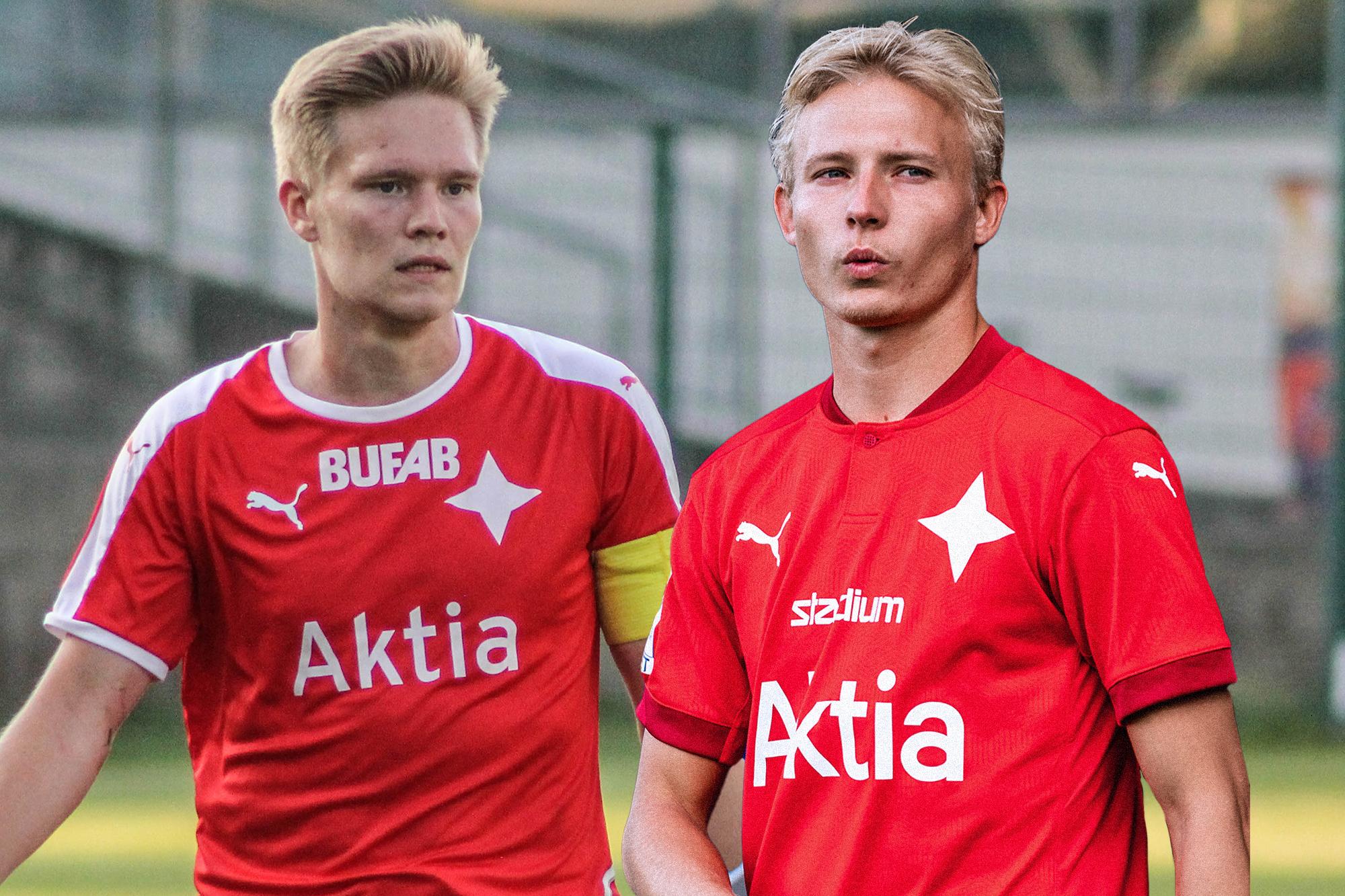 Riku Selander och Pasi Forsman lämnar HIFK