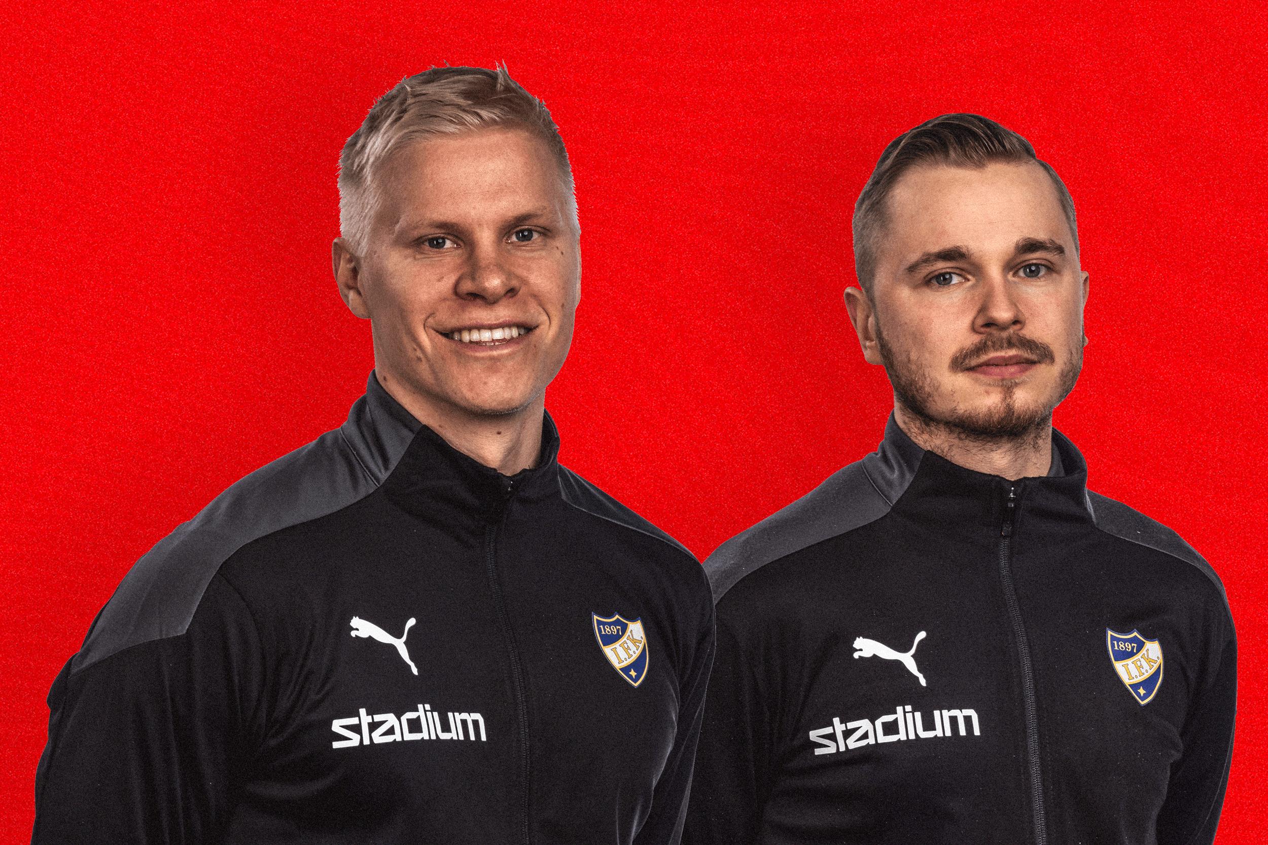 HIFK:s tränarstab får två nya medlemmar i Tommi Ekmark och Joni Välilä