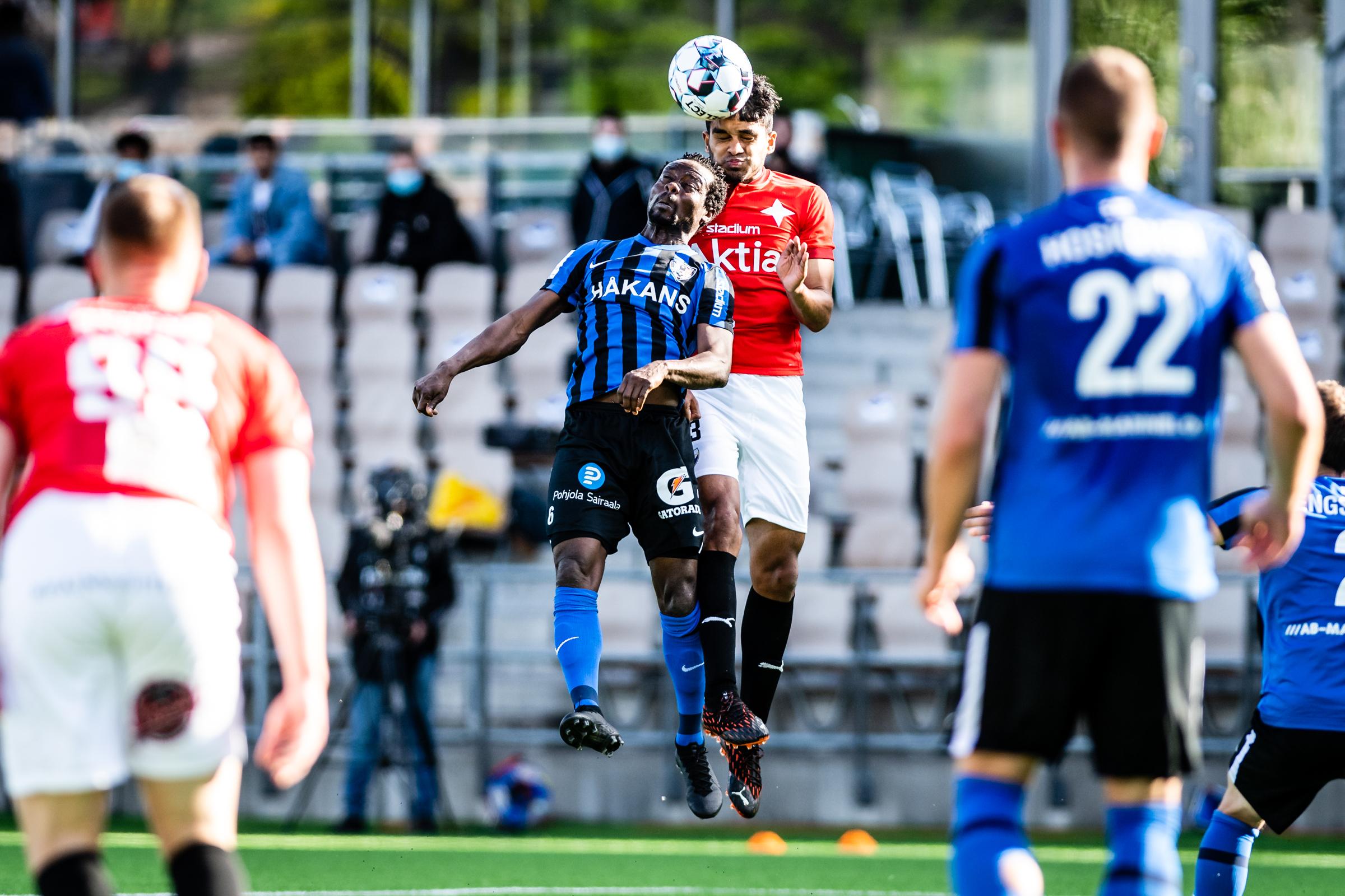 FC Inter aiheutti HIFK:lle kauden ensimmäisen tappion Helsingin lauantai-illassa