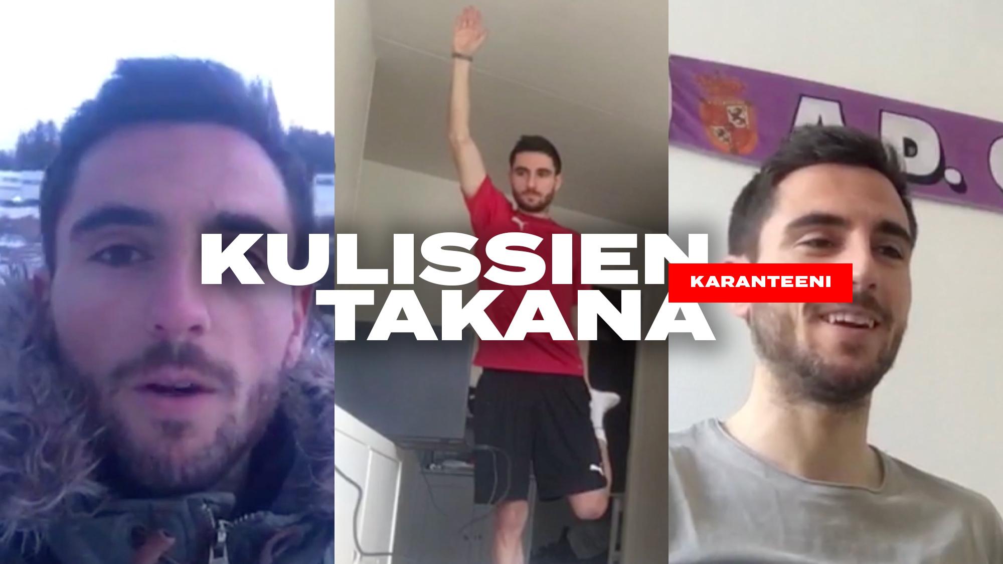 Kulissien takana: Karanteeni | Pipe Sáez