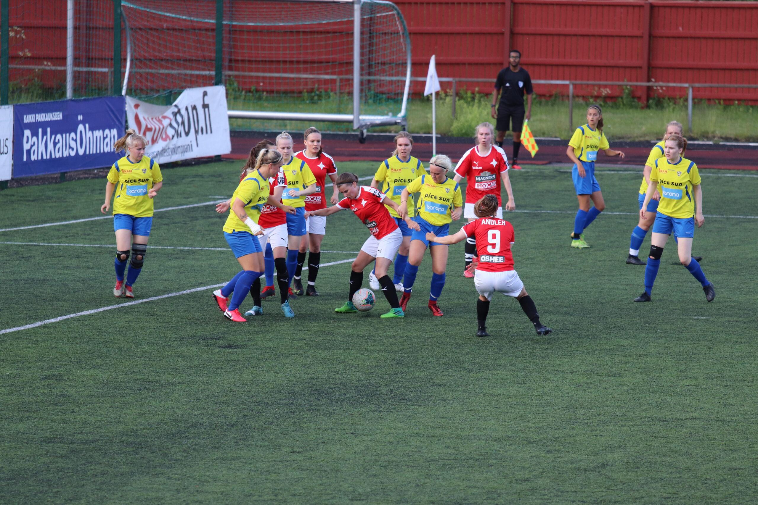 HIFK besegrade Gnistan med Melinda Andlers mål