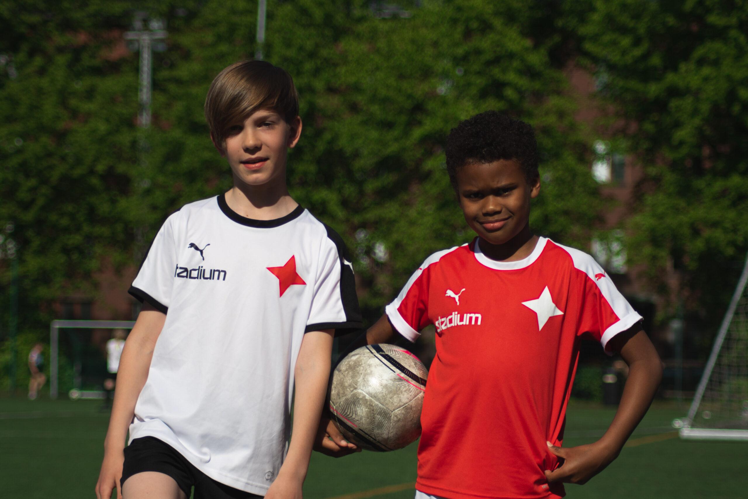 Juniorpresentation: Anton och Paul från HIFK U11 Red
