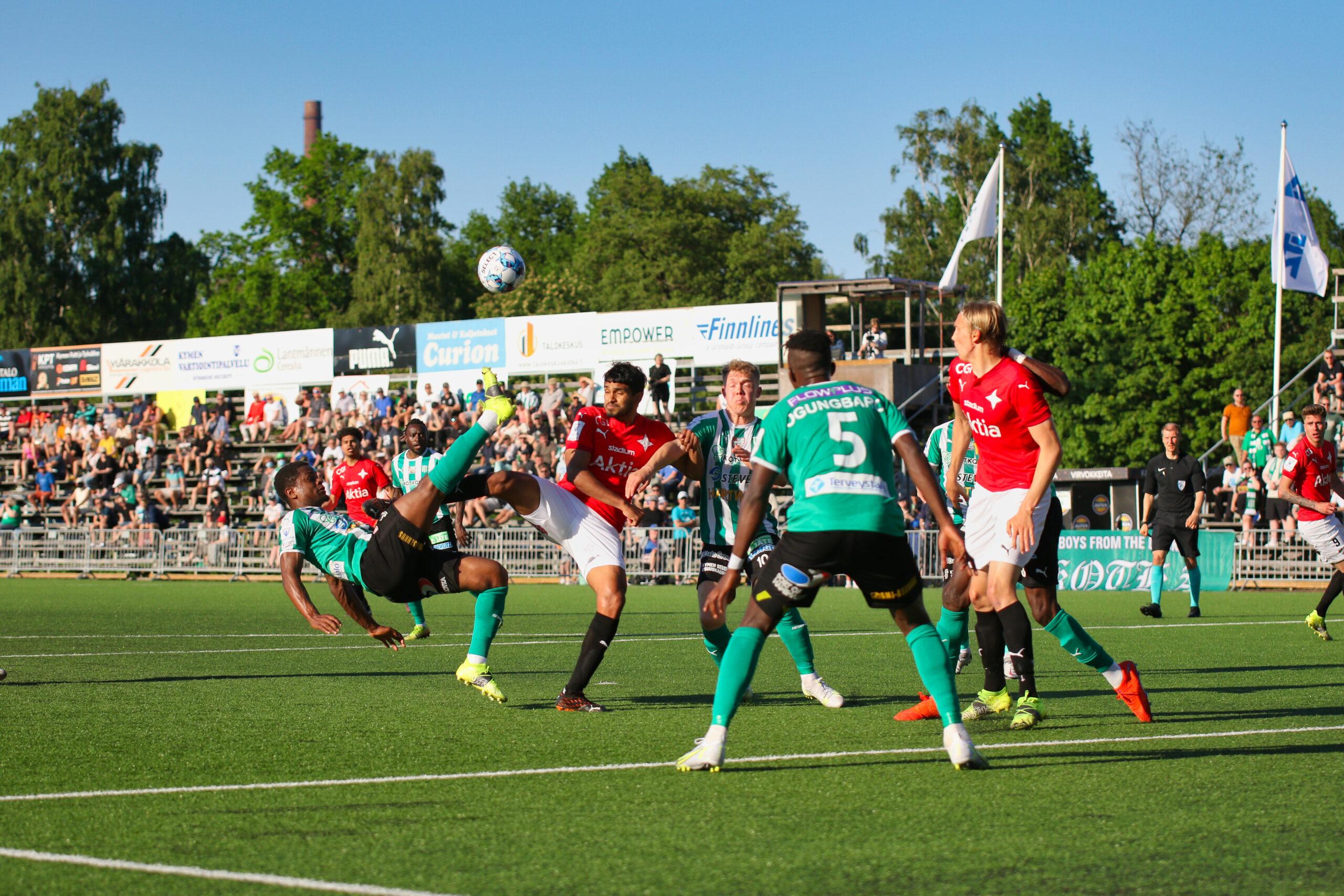 HIFK vann i Kotka – Jusif Ali stod för karriärens första Veikkausliigamål