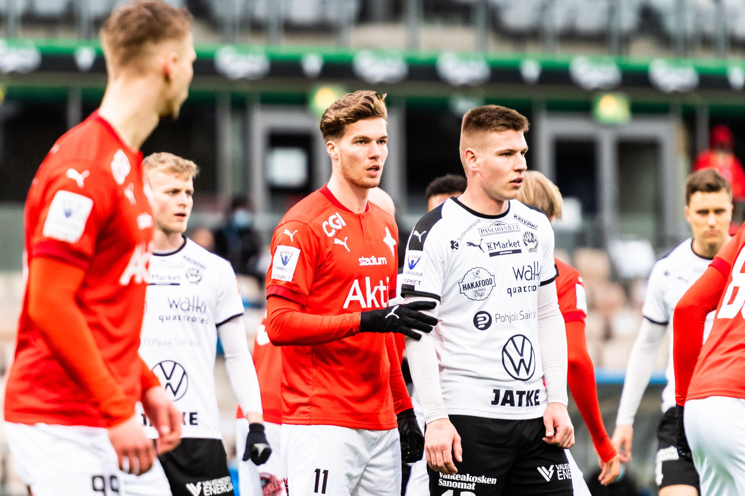 Matchen mellan FC Haka och HIFK avslutar grundserien i Veikkausliiga