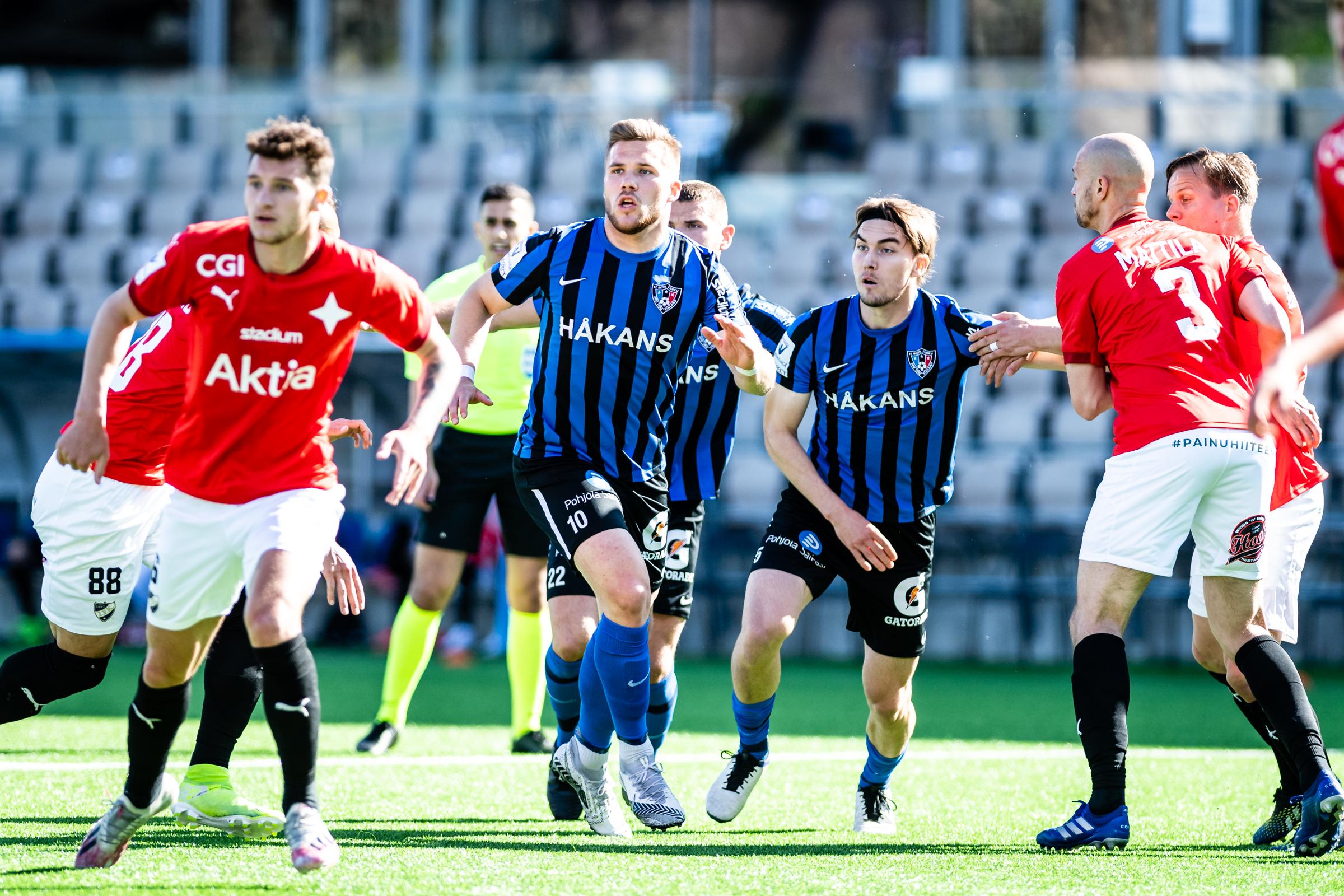 HIFK inledde mästerskapsserien med förlust borta mot Inter